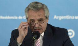 Presidente da Argentina Alberto Fernández