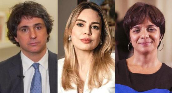 Lista inclui nomes como Guga Chacra, Rachel Sheherazade e Vera Magalhães
