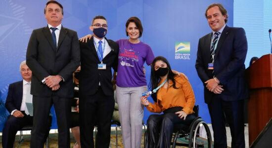 Dia Internacional da Pessoa com Deficiência, no Palácio do Planalto