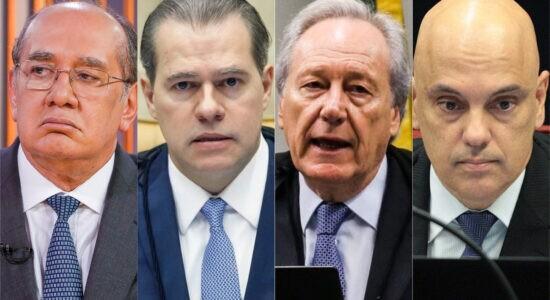 Ministros foram favoráveis a Maia e Alcolumbre