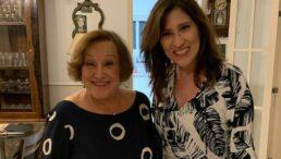 Beth Goulaart e a mãe, Nicette Bruno