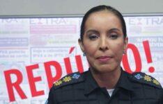 Tenente-coronel da Polícia Militar Gabryela Dantas