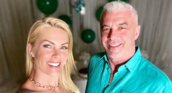Ana Hickmann e o marido, Alexandre Correa