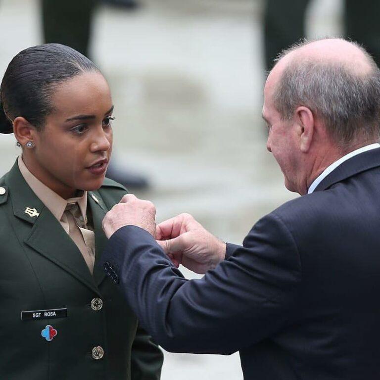 3ª Sargento Raquel Rosa se formou em primeiro lugar na Escola de Sargentos