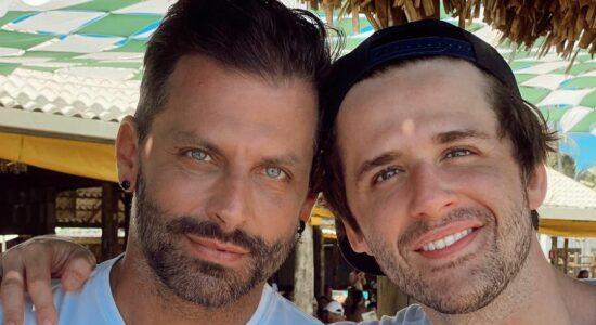 Henri Castelli e Gil Coelho estão em Alagoas
