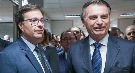 Gilson Machado e Jair Bolsonaro