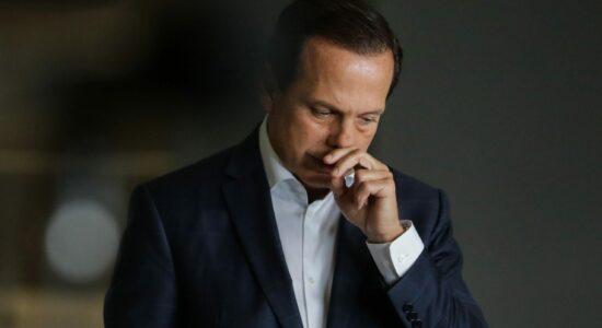 Governador de SP teve que recuar em decisão após sofrer forte pressão