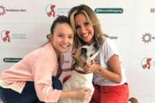 Larissa Manoela com Vitoria Regina e Luisa Mell