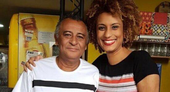 Antonio da Silva e a filha, a vereadora Marielle Franco, morta em março de 2018