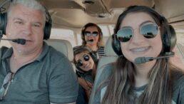 Família inteira morreu em acidente de avião