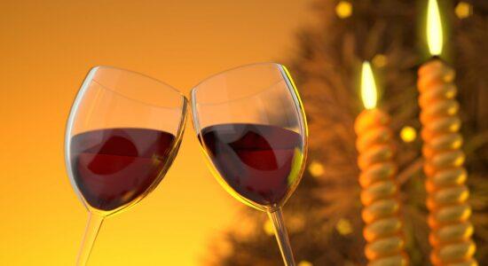 O vinho é a bebida garantida em muitas ceias
