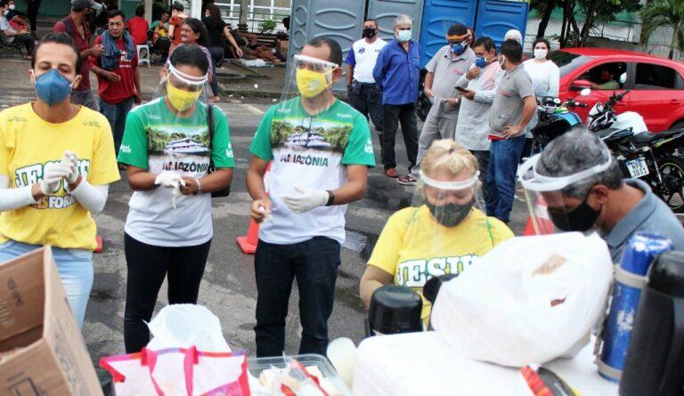 Agencia missionária envia voluntários a Manaus