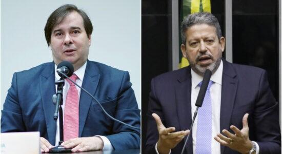 Presidente da Câmara dos Deputados, Rodrigo Maia, de deputado Arthur Lira