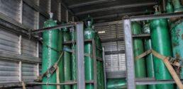 Cilindros de Oxigênio estavam escondidos dentro de caminhão em Manaus