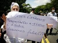 Empresários fizeram protesto contra medidas restritivas em SP