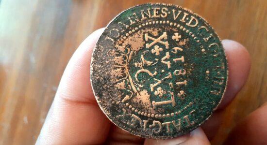 Moeda teria sido cunhada em 1819