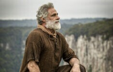 OSCAR MAGRINI interpreta noé na novela biblica genesis, da record tv