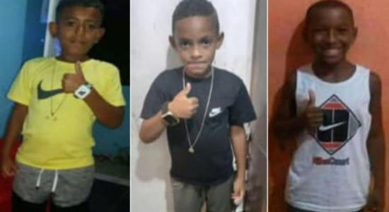 Três meninos desapareceram em Belford Roxo