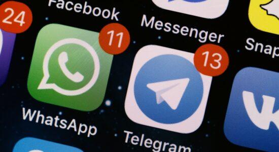 Telegram e WhatsApp protagnizam disputa acirrada nos últimos dias