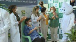 Vacinas de Oxford começam a ser aplicadas no Brasil
