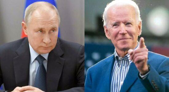 Biden conversa com Putin sobre prorrogar acordo nuclear, Ucrânia e Navalny