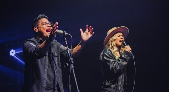 Elizeu Alves e cantora Ludi