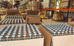 1.000 cilindros de oxigênio doados pela IBAB chegaram Manaus no dia 23 de janeiro