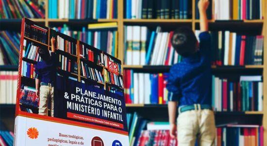 Livro sobre planejamento no ministério infantil
