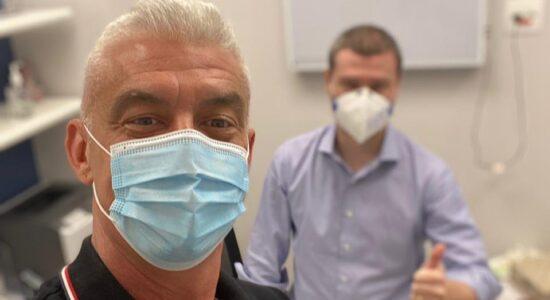Alexandre Corre celebra a remissão de câncer