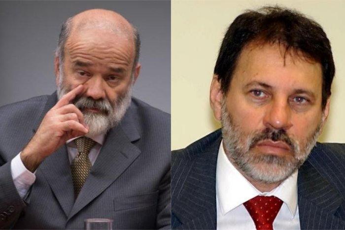 João Vaccari e Delúbio Soars, ex-tesoureiros do PT