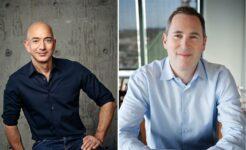 Jeff Bezos e Andy Jassy