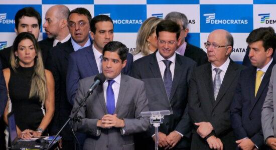 acm neto discursa em convenção nacional dos democratas
