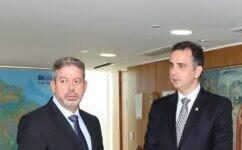Presidentes da Câmara, Arthur Lira, e do Senado, Rodrigo Pacheco