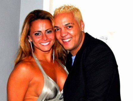 Belo e Viviane Araújo, sua ex-mulher