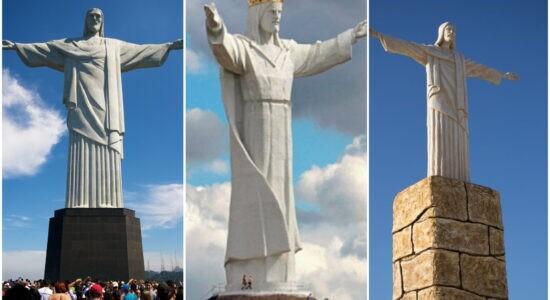 Pelo menos oito cidades no mundo possui monumento de Cristo