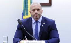 Daniel Silveira foi preso após decisão do ministro Alexandre de Moraes