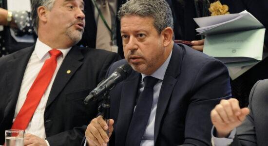 Presidente da Câmara, o deputado Arthur Lira
