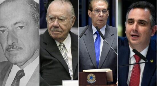 Presidentes do Senado a partir da Nova República