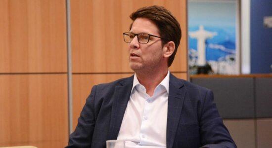 Secretário especial de Cultura, Mário Frias