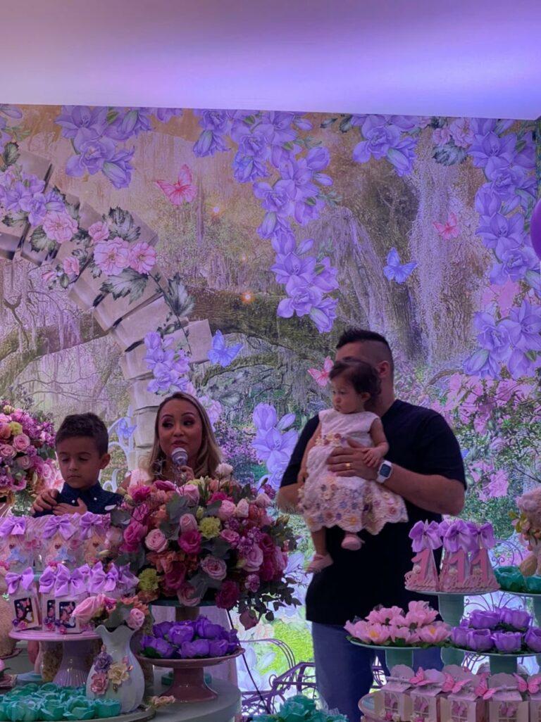 Festa de 1 ano da filha de Bruna Karla