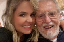 Carlos Alberto de Nóbrega revelou que ele e a esposa, a médica Renata Domingues estão internados com Covid-19