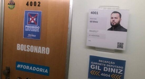 Gabinete do deputado Gil Diniz