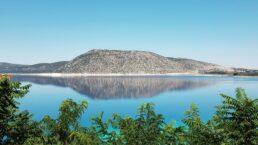Lago Salda, em Burdur, Turquia