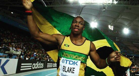 yohan blake velocista atleta olimpiadas