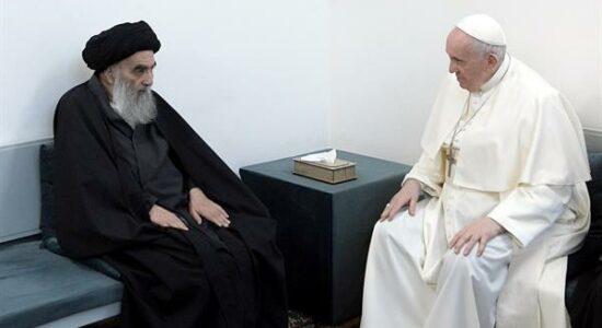 Papa Francisco e Aiatolá Al-Sistani