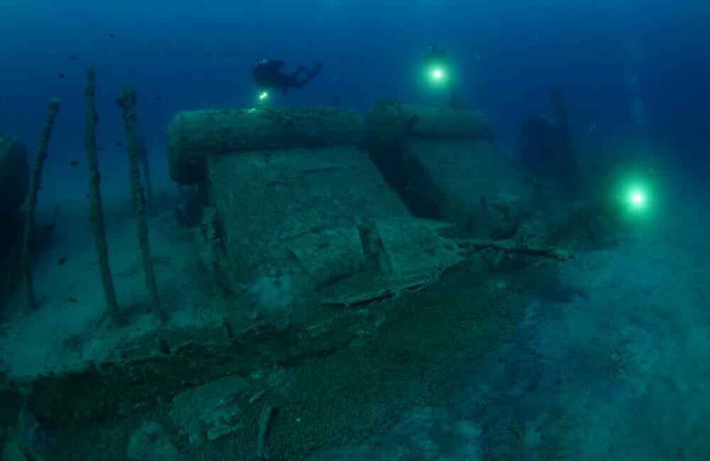 Fundo do mar britânico