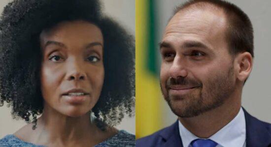 Ex-BBB perde ação movida contra Eduardo Bolsonaro