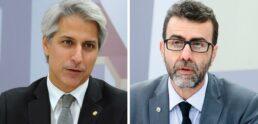 Alessandro Molon e Marcelo Freixo