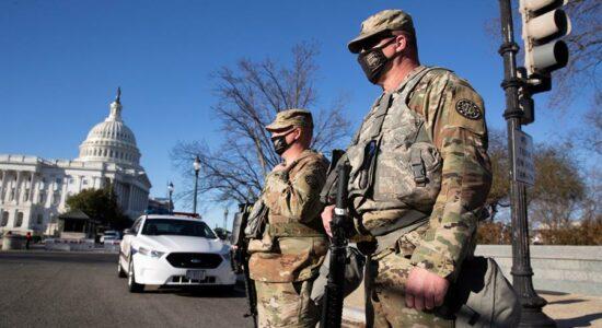Polícia dos EUA alerta para possível invasão ao Capitólio em discurso do presidente Joe Biden