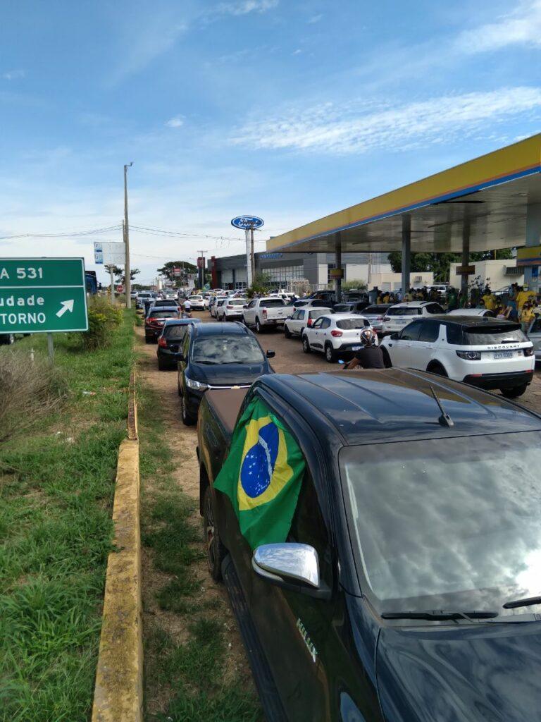 Manifestação em Araçatuba/SP